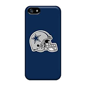 Iphone 5/5s Cases Covers - Slim Fit Tpu Protector Shock Absorbent Cases (dallas Cowboys 4)