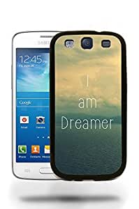 Hipster Infinity of Love Space Positive Motivational Quotes Phone Case Cover Designs for Samsung Galaxy S3