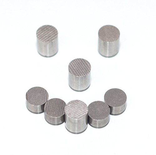 A Mustard Seed Toys Tungsten Pine Derby Incremental Weights - 3 oz. Total, Multiple Cylinder Sizes to Optimize Your Pinewood Car for -