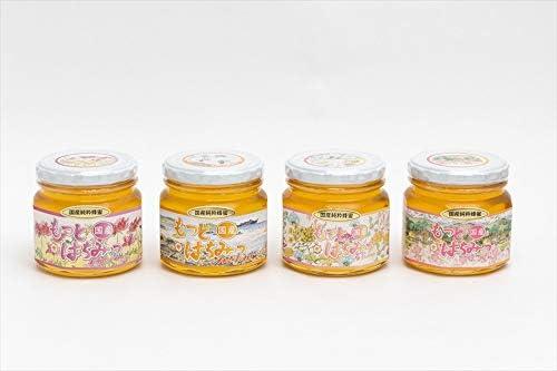 【国産純粋ハチミツ・養蜂園直送】れんげ蜂蜜 みかん蜂蜜 百花蜂蜜 山ざくら蜂蜜 各300g