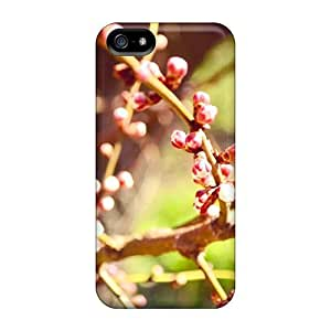 Forever Collectibles Spring Buds Nature Bokeh Hard Snap-on Iphone 5/5s Cases