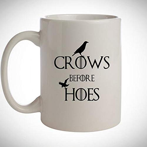 Inspired Coffee Mug-Crows Before Hoes-Funny TV Series Gift-Gifts for friend-Funny Mug Q00OD-10]()