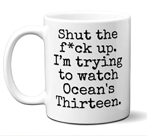 Ocean's Thirteen Gift Mug. Funny Parody Movie Lover Fan