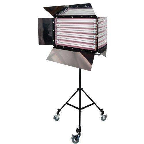 LimoStudio Photo Studio 550W Digital Light Fluorescent 6-Bank Barndoor Light Panel, AGG1010 (Certified Refurbished)