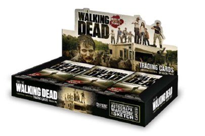 The Walking Dead TV SHOW Season 2 Cryptozoic Trading Cards Box [24 Packs] (Card Tv Show Trading)
