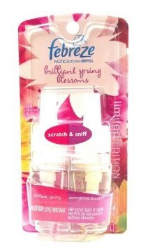 UPC 037000812487, Febreze Noticables Limited Edition Brilliant Spring and Springtime Blossoms Dual Scented Oil Refill (1 Each)