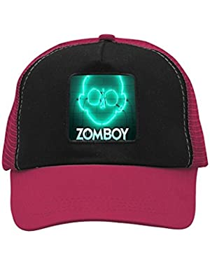Green Light Zomb Unisex Trucker Hat Adjustable Mesh Cap