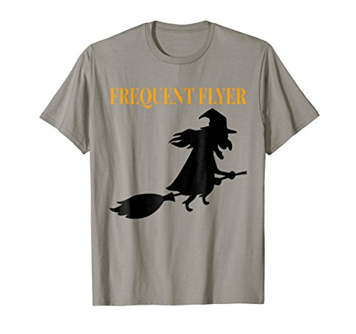 Frequent Flyer Funny Witch   Last Minute Halloween Costume