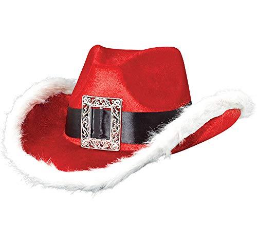 Christmas Santa Cowboy Hat, 5
