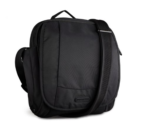 Pacsafe Metrosafe 200 GII Shoulder Bag, Black