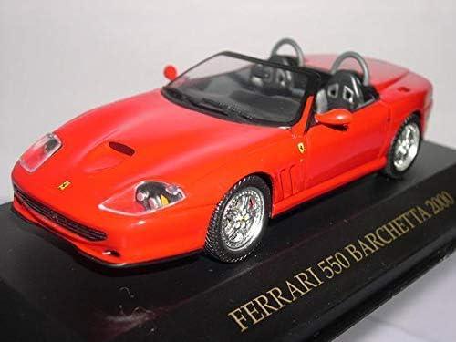red IXO 1:43 Ferrari 550 Barchetta 2000