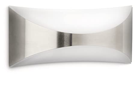 Philips seedling lampada da parete da esterno rettangolare curva