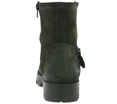 Buffalo LondonES 30635 TREND PLISSE - botas Mujer Gris - Grau (CINZA 01)