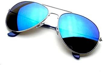 Emblem Eyewear - Aviador Gafas De Sol Vintage Espejo Lente