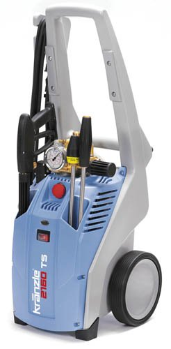 KranzleUSA K2020  Cold Water Electric Industrial Pressure Washer with GFI and 33' Wire Braided Hose, 2000 PSI, 1.9 GPM, 110V, 20A by KranzleUSA