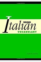 Using Italian Vocabulary Kindle Edition