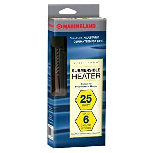 Amazon.com : Marineland Visi-Therm Aquarium Heater, 25 ...