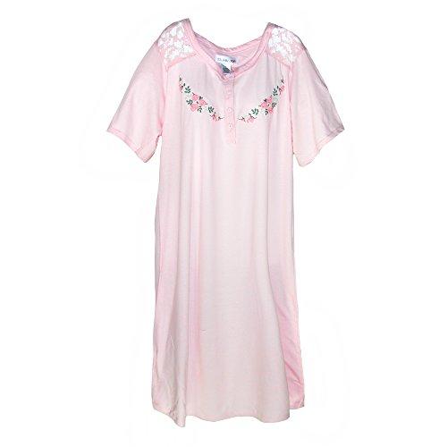 Sag Harbor Womens Embroidered Nightshirt product image