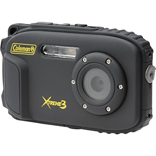 Coleman C9WP-BK Xtreme3 20 MP Waterproof Digital Camera with