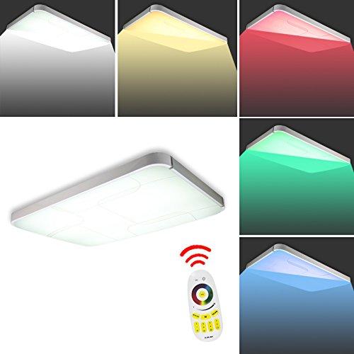 VINGO® 36w RGB LED Deckenleuchte IP44 Badezimmer geeignet ...