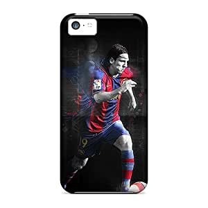 Anti-scratch And Shatterproof Lionel Messi Barcelona Phone Case For Iphone 5c/ High Quality Tpu Case