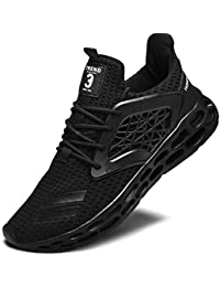 Men's Walking Shoes, Lightweight Casual Sneakers Workout Sport Athletic Running Shoes for Training Tennis Jogging Footwear