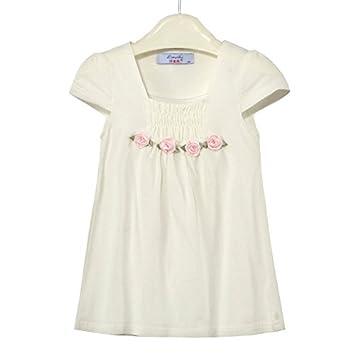 c8e625a4a955 Amazon.com : Fashion Sunny Little Girl's Sleeveless Dress with Four ...
