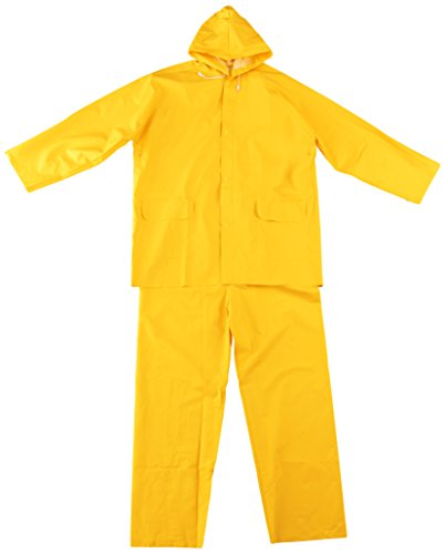 (TRUPER TRA-PRO-XL Yellow Rainsuits. Safety Products. Size XL)