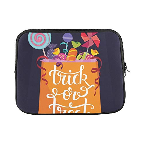 Design Custom Trickortreat Bag Full Candies Halloween Sleeve