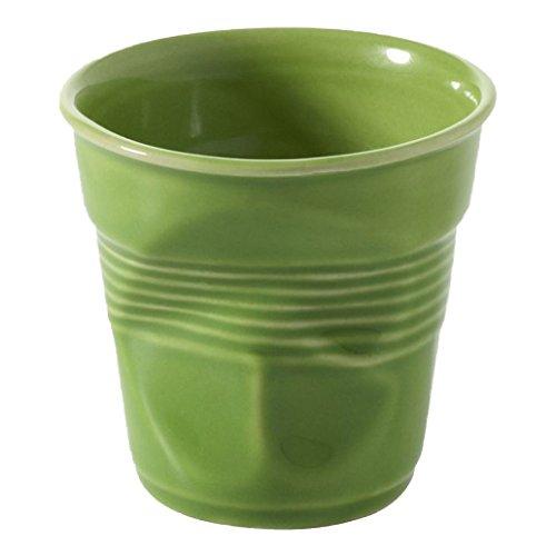 Revol Froisses 640680 Cappuccino Crumple Tumbler, Lime ()