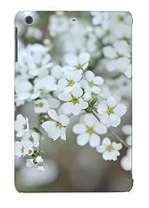 [VsfKrFM1982XDeGS]premium Phone Case For Ipad Mini/mini 2/ White Blossoms Tpu Case Cover(best Gift Choice)