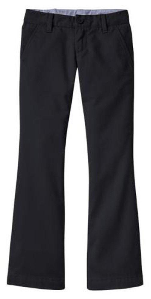 GAP Kids Girls Navy Boot Cut School Uniform Pants 12 Plus
