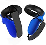 MASiKEN Controller Grip Cover Accessories & Knuckle Strap for Oculus Quest/Oculus Rift S Controller Strap, Upgraded Wrist Straps Handle Protective Sleeve