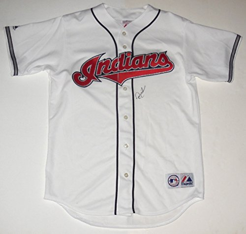 - Nick Swisher Autographed Jersey (Indians)