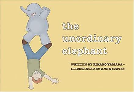 The Unordinary Elephant (English and Japanese Edition)
