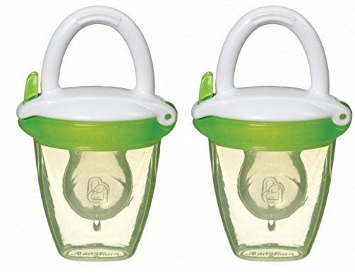 Munchkin 2 Pack Fresh Food Baby Weaning Silicone Feeders