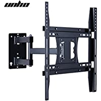 Articulating LED LCD TV Wall Mount Bracket 22-50 inches Full Motion TV Bracket for TCL Sony Hisense Element Sceptre Naxa Flat Screen TV-Load Capacity to 66lbs 30KG, Max VESA 400x400mm