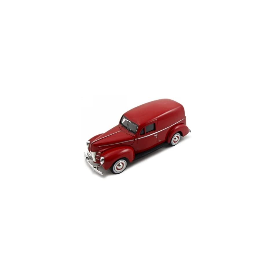 1940 Ford Sedan Delivery Red 124 Diecast Car Model