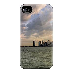 Ultra Slim Fit Hard 6Plus Case Cover Specially Made For Iphone 4/4s- City Skyline