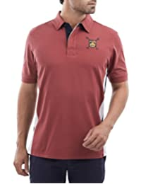 Playera Polo Manga Corta Regular Fit Vino