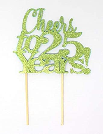 Todo sobre Detalles Anima a 25 Años! Decoración para tarta ...