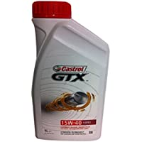 Castrol GTX 15W-40 A3 / B3 motorolie 1L (englische Etiketten) doorzichtig