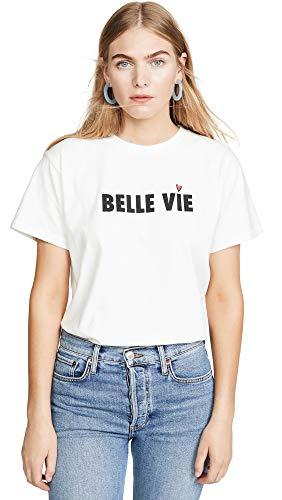 (Rebecca Minkoff Women's Belle Vie Westin Tee, White, Medium)