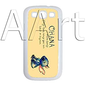 V18.1 Vintage Ohana Samsung Galaxy S3 case / Ohana means family Galaxy S3 White Case - 4G AArt