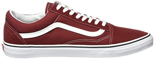 madder Skool Old true Vans Sneaker Rosso Brown White Adulto Unisex – 506qfwTqx