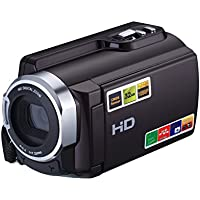KINGEAR HDV-5053 24MP HD 1080P 3.0 LCD Screen Digital Video Camcorder With Wifi
