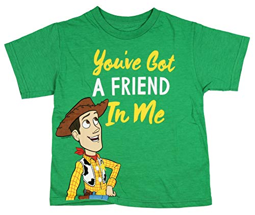 Toy Soldier Clothing (Toy Story You've Got a Friend in Me Juvy T-Shirt - Woody, Green)
