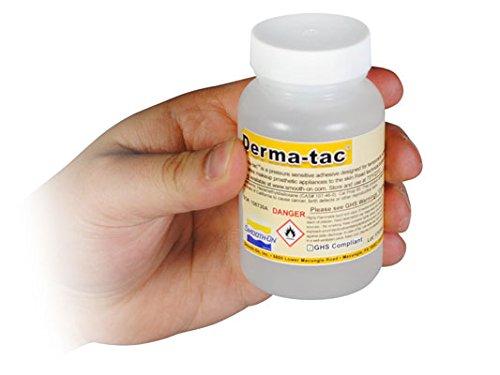 Smooth-On Derma-tac Silicone Prosthetic Adhesive - 4 oz. Bottle