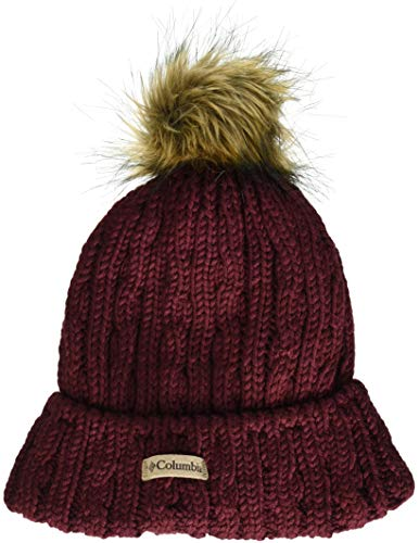 Columbia Catacomb Crest Beanie, Rich Wine, One Size ()