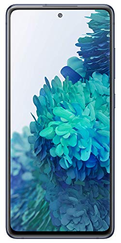 Samsung Galaxy S20 FE (Cloud Navy, 8GB RAM, 128GB Storage) with No Cost EMI/Additional Exchange Offers 2021 July Triple rear camera setup - 8MP OIS F2.4 tele camera + 12MP F2.2 ultra wide + 12MP (2PD) OIS F1.8 wide rear camera   32MP (2PD) OIS F2.2 front punch hole camera   Rear LED flash 16.40 centimeters (6.5-inch) dynamic AMOLED display, FHD+ capacitive multi-touch touchscreen, Quad HD+ resolution with 1080 x 2400 pixels resolution Memory, Storage & SIM: 8GB RAM   128GB internal memory expandable up to 1TB   Dual SIM (nano+nano) dual-standby (4G+4G)